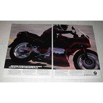 1987 BMW K75S Motorcycle Ad - Extensive Training