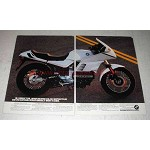 1987 BMW K100RS Motorcycle Ad - National Design Award