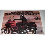1986 BMW R80 RT Motorcycle Ad - German Classics