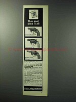 1971 Charter Arms Ad - Undercover .38 Special Revolver