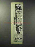 1971 Parker-Hale 1200 Mauser Ad - If All This