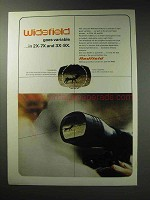 1971 Redfield Widefield Scope Ad - Goes Variable