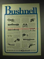 1971 Bushnell Optics Ad - For Latest