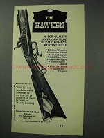 1971 Thompson-Center Arms Hawken Rifle Ad