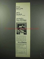 1963 Daisy BB Range Ad - If You Have a Boy