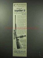 1963 Bushnell Scopechief 22 Scope Ad - Experts Say