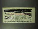 1963 Charles Daly Over-under Commander Shotgun Ad - Quality