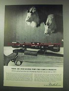 1962 Weatherby Imperial Scope Ad - Split-Seconds