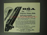 1962 BSA Majestic Deluxe Rifle Ad!