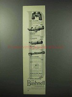 1961 Bushnell Optics Advertisement - Binoculars, Scopes