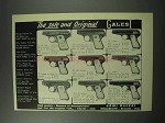 1959 Galesi .25 Caliber and .32 Caliber Pistol Ad