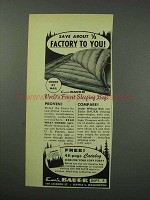 1959 Eddie Bauer Sleeping Bags Ad - Save About 1/3
