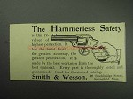 1895 Smith & Wesson Hammerless Safety Revolver Ad
