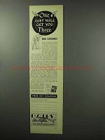 1951 Daisy Air Rifles Ad - One Gift Will Get You Three