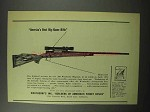 1951 Weatherby .300 Magnum Rifle Ad - America's Best