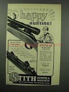 1951 Stith Master Mount and 6x Master Scope Ad