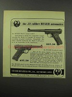 1951 Ruger Ad - Mark I Target and Standard Pistol