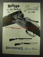 1950 Browning Superposed and Automatic Shotgun Ad