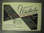 1950 Weatherby Rifle Stocks & Barrels Ad - Finest