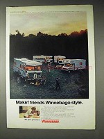 1973 Winnebago Motorhomes Ad - Makin' Friends
