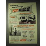 1973 Coleman Somerset Camping Trailer Ad - Time to Buy