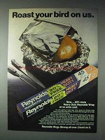 1973 Reynolds Aluminum Foil Ad - Roast Your Bird
