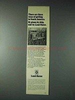 1973 Land-Rover Truck Ad - Getting to South America