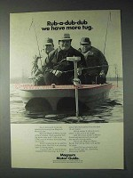 1973 Magnum Motor-Guide Outboard Motor Ad - More Tug