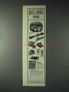 1973 Williams Gun Sight Ad - For Greatest Accuracy