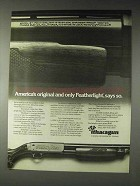 1973 Ithaca Gun Model 37 Featherlight Shotgun Ad