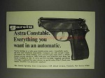 1973 Astra Constable Pistol Ad - Everything You Want