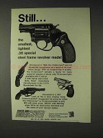 1973 Charter Arms Ad - Undercover Revolver