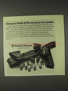 1973 Smith & Wesson Ad - Holsters, Cartridge Cases