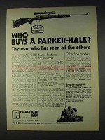 1972 Parker-Hale 1200 Rifle Ad - Who Buys?