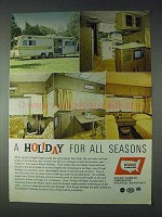 1972 Royal Holiday Travel Trailer Ad - For All Seasons