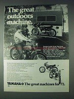 1972 Yamaha LT2 Enduro, JT2-L Mini Enduro Motorcycle Ad