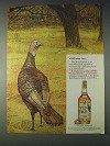1972 Wild Turkey Bourbon Ad - Wild Turkey Lore