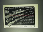1972 Mauser Ad - Model 660, 3000, 4000 Rifles