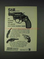 1972 Charter Arms Undercover .38 Revolver Ad