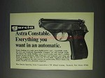 1972 Astra Constable Pistol Ad - Everything You Want