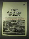 1970 GM Power Steering Ad - Doesn't Steer Like a Truck