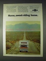 1970 Chevrolet Pickup Truck Ad - Home, Sweet-Riding