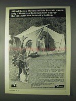 1969 Coleman Tents Ad - Do His Rain Dances