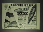 1969 Folbot Boat Ad - Big Spring Savings