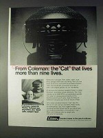1968 Coleman Catalytic Heater Ad - More Than Nine Lives