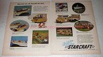 1968 Starcraft Boats, Campers and Travel Trailers Ad!