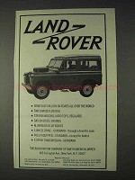 1966 Land Rover Truck Ad - Half Million On Roads