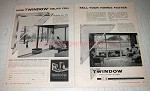 1958 Twindow Insulating Glass Ad - Helps Sell Homes