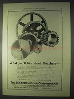 1922 Meachem Gears Ad - What You'll Like About