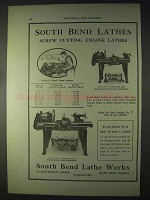1922 South Bend No. 27 & No. 65 Lathes Ad